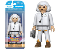 Funko Playmobil Figure - Back to the Future - Dr Emmett Brown - Videguy Collectibles