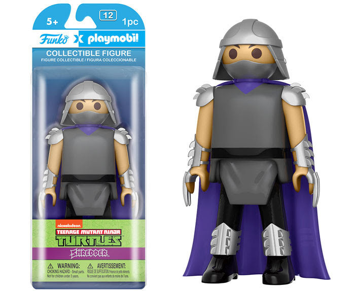 Funko Playmobil Funko - Teenage Mutant Ninja Turtles - Shredder