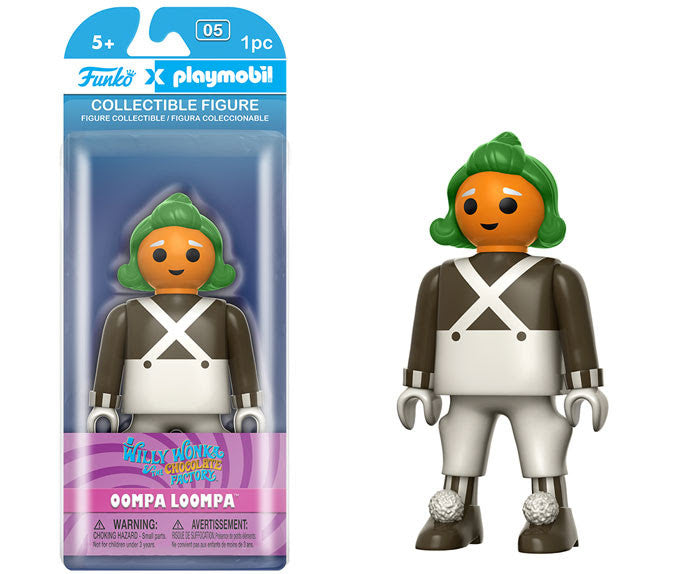 Funko Playmobil Figure - Willy Wonka and the Chocolate Factory - Oompa Loompa - Videguy Collectibles