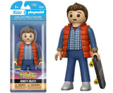 Funko Playmobil Figure - Back to the Future - Marty McFly