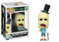 Funko Animation Pop! Rick and Morty - Mr. Poopy Butthole #177