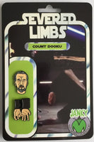 Severed Limbs Count Dooku Pin Set