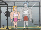 Magnet: Rick and Morty - Muscle Summer and Rick