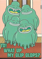 Magnet: Rick and Morty - What Up My Glip Glops?