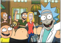 Magnet: Rick and Morty - Smith Family