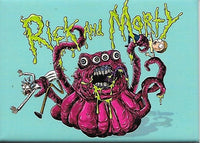 Magnet: Rick and Morty - 4 Eyed Monster