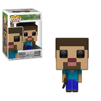 Funko Games Pop! - Minecraft  - Steve - Pre-Order