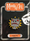 Snaggletooth Action Figure Head Pin