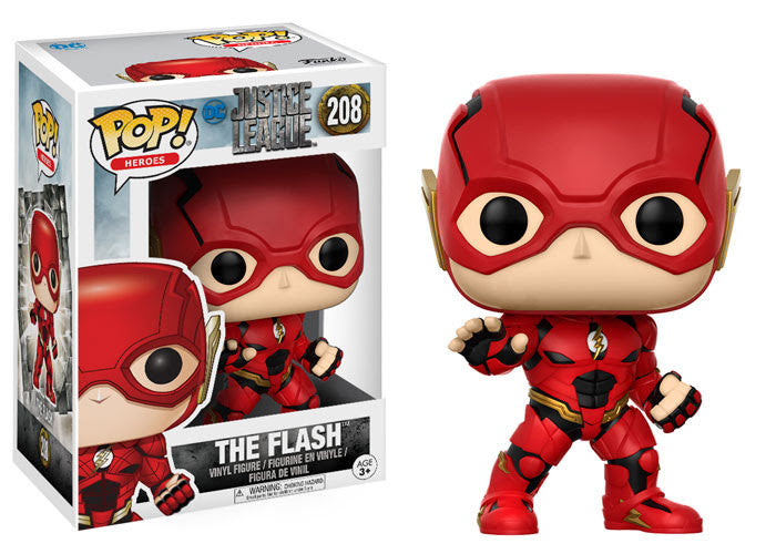 Funko Movies Pop! - Justice League Movie The Flash #208