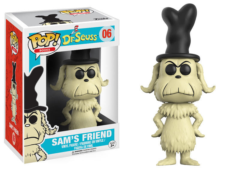 Funko Books Pop! - Dr. Suess - Sam's Friend #06 - Videguy Collectibles