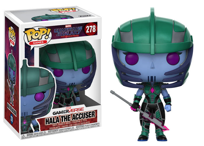 Funko Games Pop! - Guardians of the Galaxy The Telltale Series - Hala the Accuser - Pre-Order