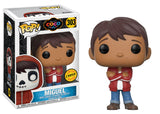 Set of 4 Funko Disney Pop! - Coco - 3 Regular + Chase - Pre-Order