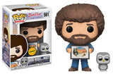 Set of 3 Funko Television Pop! - Bob Ross Joy of Painting - 2 Regular and 1 Chase