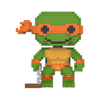 Funko 8-Bit Pop! - Teenage Mutant Ninja Turtle - Michelangelo