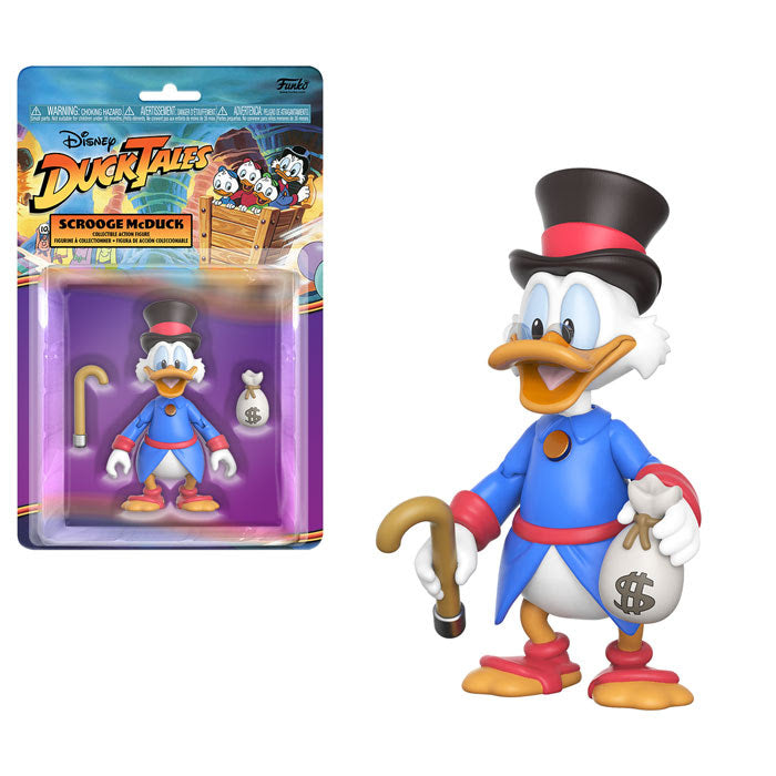 Funko Disney Afternoon Action Figure - Scrooge McDuck - Pre-Order