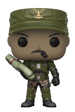 Funko Pop! - Halo: S1 - Sgt.-Johnson-w/ Cigar-Chase