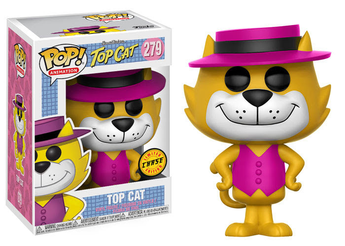 Funko Animation Pop! Hanna Barbera Top Cat: Top Cat Chase Pre-Order