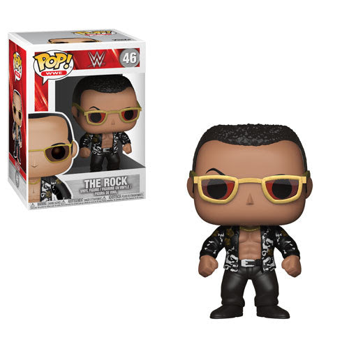 Funko WWE Pop! - WWE S6 - The Rock Old School