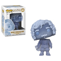 Funko Harry Potter S5 Pop - Nearly Headless Nick (Blue Translucent) - Pre-Order