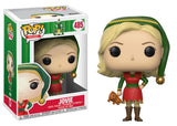 Set of 4 Funko Movies Pop! - Elf - Jovie, Buddy, Buddy Chase and Papa Elf