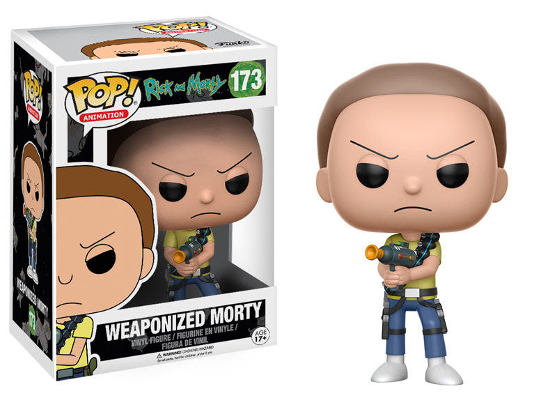 Funko Animation Pop! Rick and Morty - Weaponized Morty #173