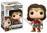 Funko Movies Pop! - Justice League Movie Wonder Woman #206