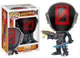 Set of 4 Funko Games Pop! - Borderlands - Zero, Lilith, Emperor Claptrap, and Tiny Tina <br>Pre-Order