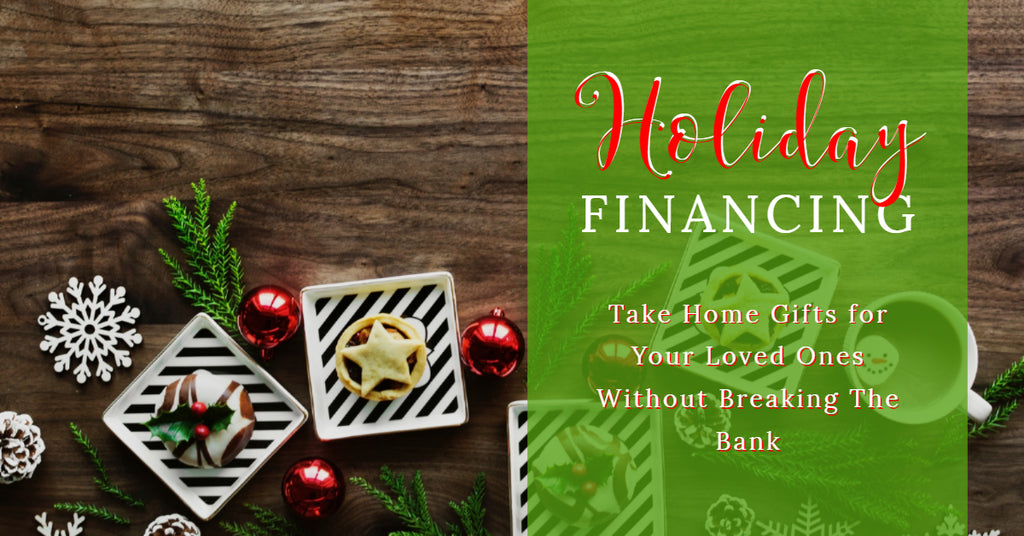 What Can Holiday Financing Do For You?