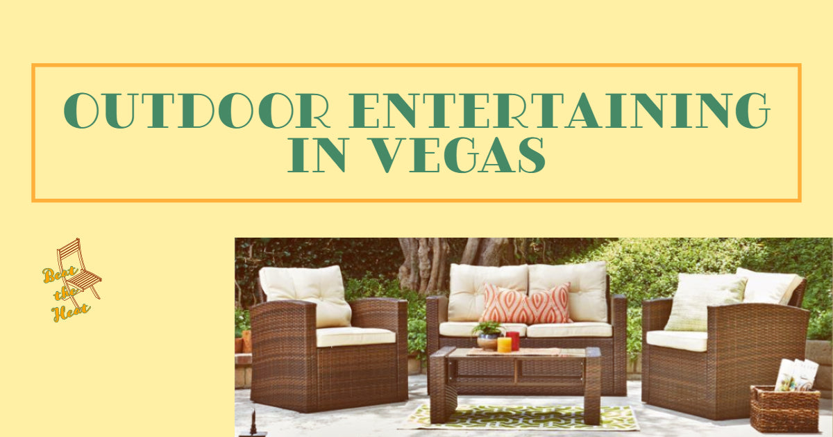 Quick Tips for Outdoor Entertaining in Vegas Heat