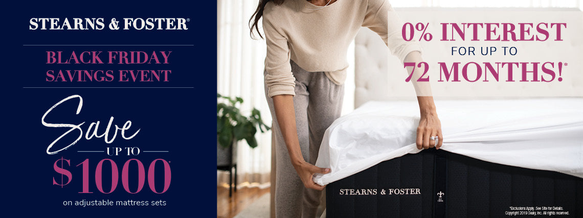 stearns foster black friday sale