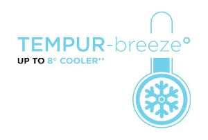 tempurbreeze luxebreeze sleep up to 8 degrees cooler