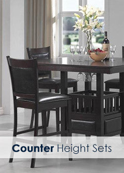 counter height dining sets in las vegas - Dining Room Set Up