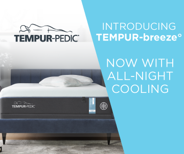 Tempur-Breeze now with all night cooling