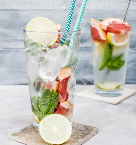 water fruit glass summer hydration