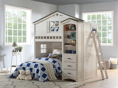 acme furniture youth bedroom kids bed house white