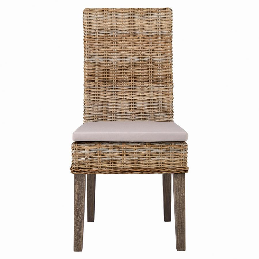 Fabulous Coaster 103803 Rattan Dining Chair 2 Pack Machost Co Dining Chair Design Ideas Machostcouk