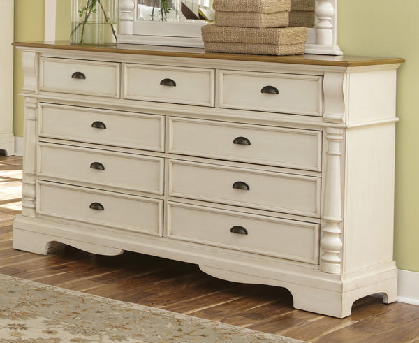 Coaster Oleta Dresser with 9 Drawers and Bracket Feet