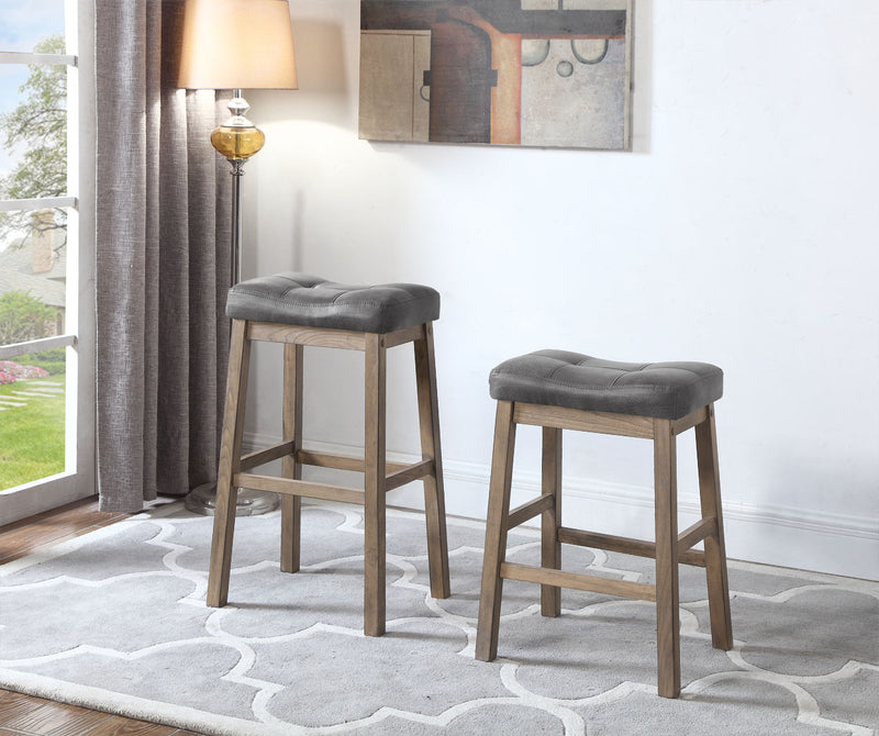 Coaster Dining Chairs and Bar Stools Rustic Backless Counter Height Stool
