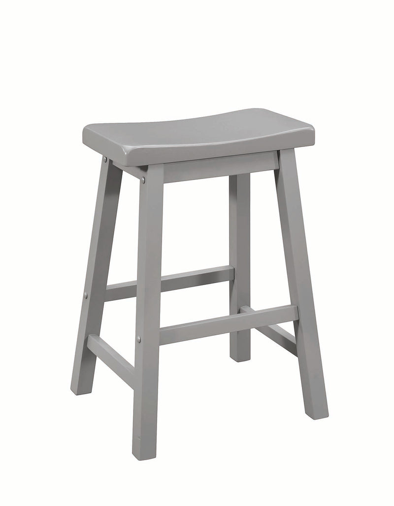 Coaster Dining Chairs and Bar Stools Casual Counter Height Stool with Scooped Seat