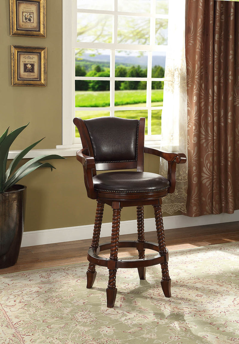 "Coaster 100670 Traditional 29""H Bar Stool"