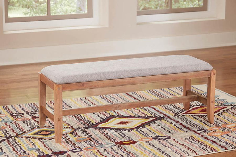 Coaster Auburn Upholstered Accent Bench