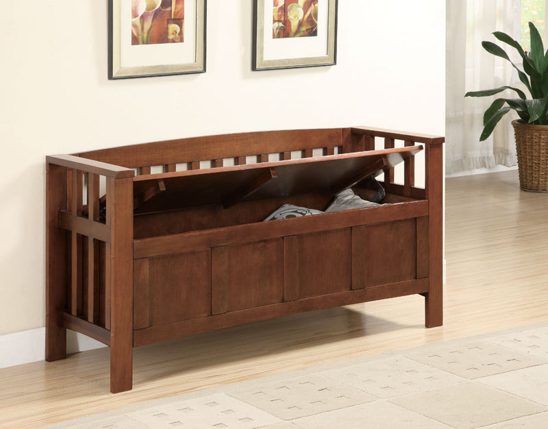 Coaster Benches Wood Storage Bench