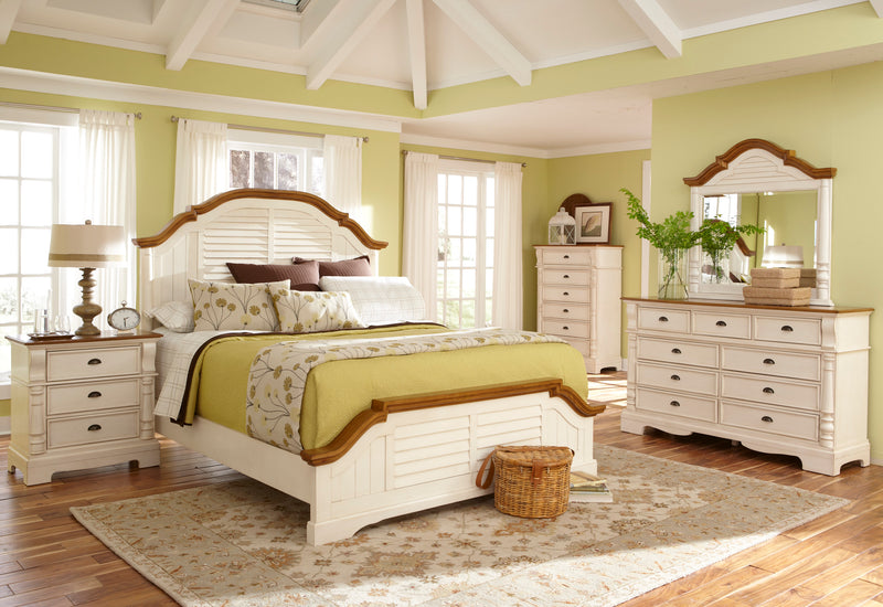 Coaster Oleta Chest with 6 Drawers and Pilaster Detail