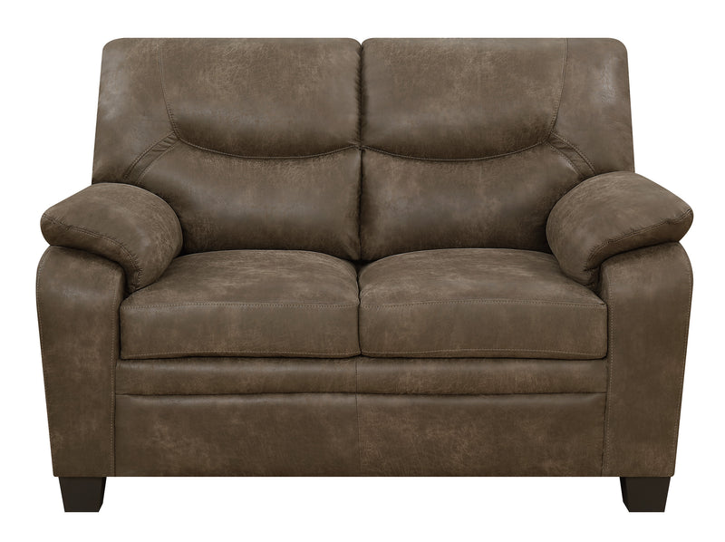 Coaster Meagan Stationary Loveseat
