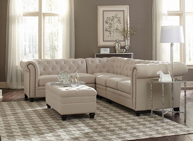 Coaster Roy Sectional Sofa - Ottoman