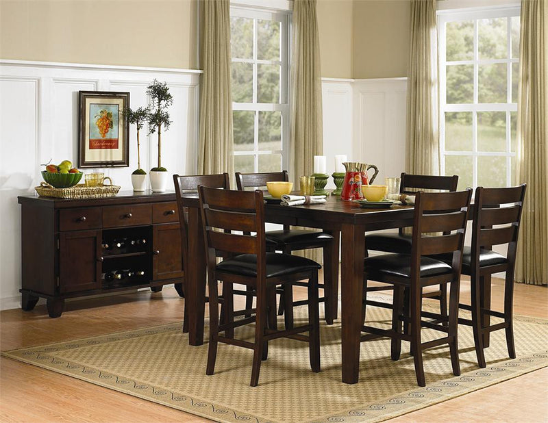 Homelegance Ameillia 7 pc Counter Height Set