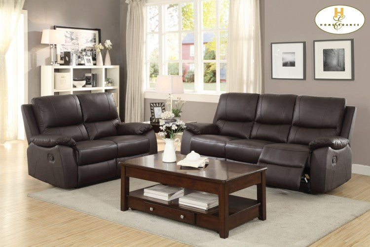 Homelegance Greeley Brown 3 Piece Living Room Collection
