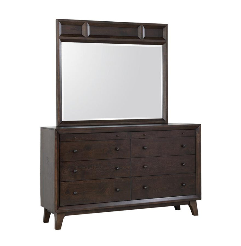 Coaster Bingham 8 Drawer Dresser with Top Felt-Lined Drawers