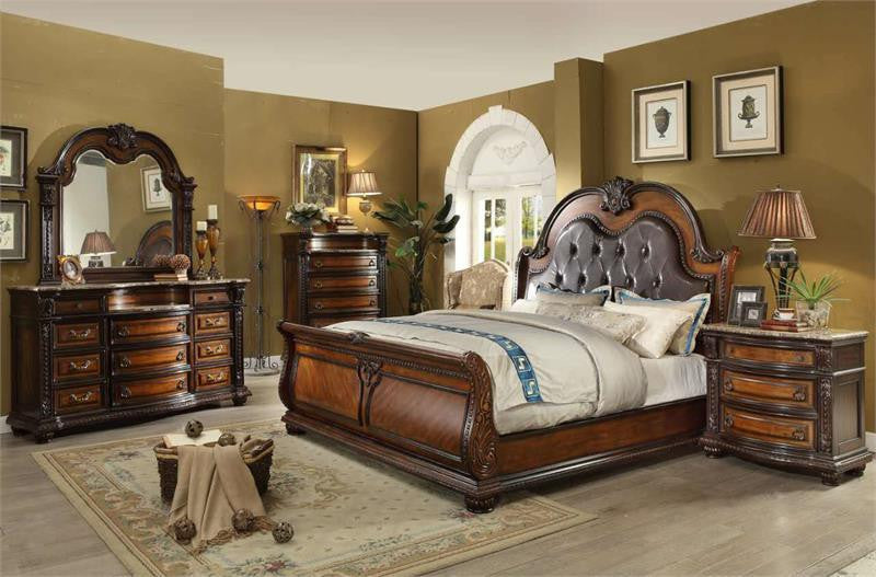 McFerran B9500 5 Piece Queen Bedroom Set