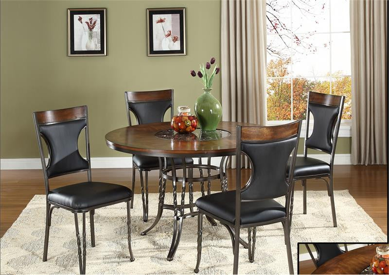 McFerran ADYN4830 5 Pc Formal Dining Set
